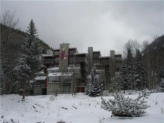 Taos Ski Valley condo photo - First October snow
