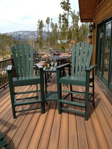 New more spacious deck this summer season!