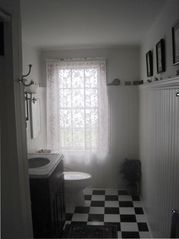 Surry cottage photo - Bath off Master and 5 steps from large bedroom. Two doors in BR for easy access.