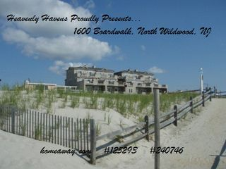 North Wildwood condo photo - Corner Property So High Even The Back Rooms Have Ocean Views!