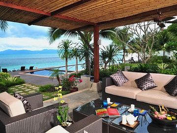 Banyan Terrace by the beach