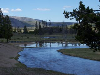 Cody cabin photo - Yellowstone Park.