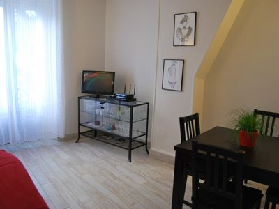 10th Arrondissement Canal St Martin apartment rental - Living Room