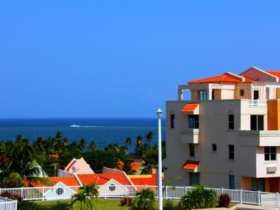 Humacao villa rental - View from parking lot