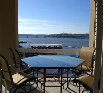 Osage Beach condo rental - A wonderful place to dine or just relax.