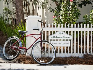 Rosemary Beach house photo - MAIN & CABANA--Front Fence