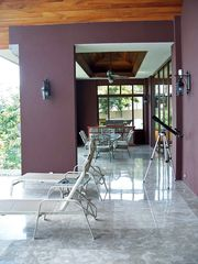 Playa Hermosa house photo - Upper Patio with barbecue