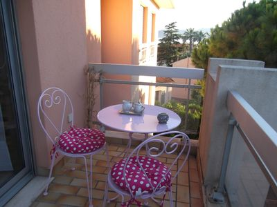studio residence very sought keeper pool terrace side sea view