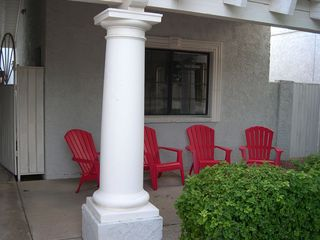 Phoenix house photo - Comfortable seating on the Front Patio