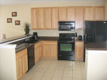 Remodeled kitchen area