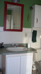 Sharpsburg cottage photo - Recently Updated Bathroom