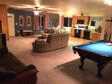 Oakhurst house rental - A Very Large Open Room to relax & enjoy yourself.