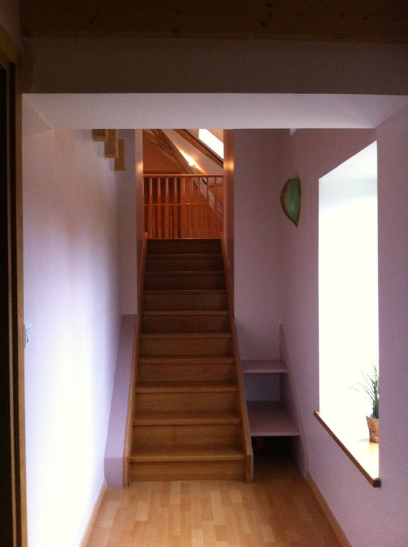 Outside bedroom 1, up to mezzanine