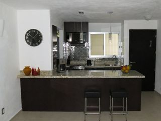 Puerto Vallarta apartment photo - full kitchen with granite counterswasher/dryer, dish washer,toaster,coffee maker