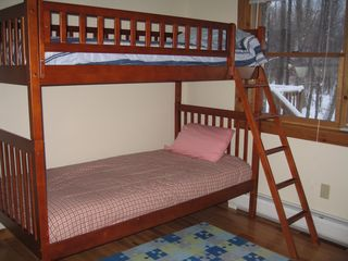 Jay Peak house photo - have to have bunk beds of course!