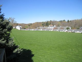 Huge Grassy Knoll behind our Townhouse - Saugatuck / Douglas townhome vacation rental photo