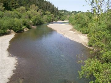 Russian River at the Wohler Bridge