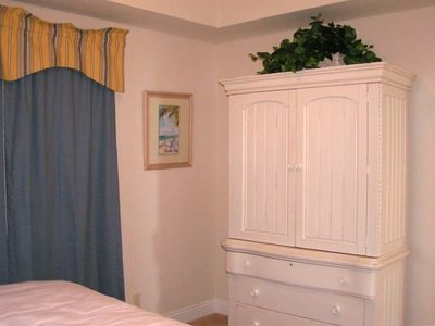 Master Bedroom - Armoire with 32 Inch Flat Screen TV and DVD