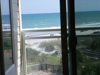 Windy Hill condo photo - Ocean front view from the balcony - sit here and relax