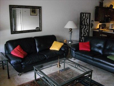 Two Large Leather couch's , should you each have your own