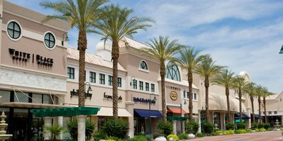Dana Park Village is home to various upscale shops and boutiques in Mesa