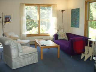 Bass Harbor house photo - Living area