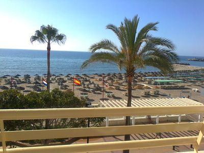 Fuengirola apartment rental - beautiful sea view from the balcony..sunrise !