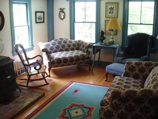 Canaan farmhouse photo - A second living room