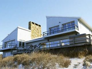 Montauk house photo - 6,000 square feet of living space on the Block Island sound in Montauk