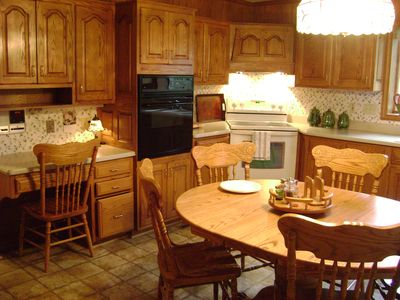 Frederick farmhouse rental - Kitchen - fully equipped.