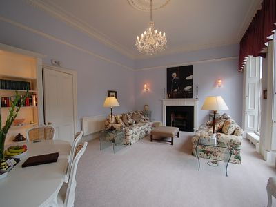Edinburgh apartment rental - Drawing Room