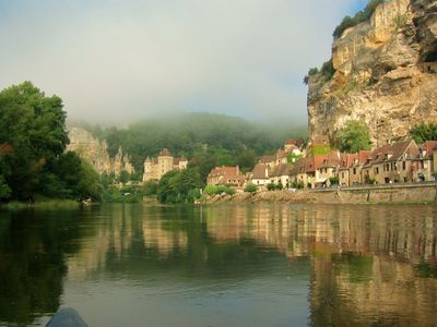 Dordogne River 15 minute drive from rental.