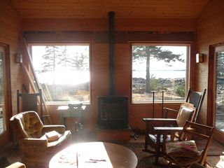 Beals - Great Wass Island cabin photo - Ocean View from Living Room