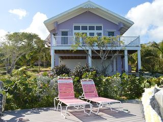 Long Island cottage photo - Oceanside with deck below.