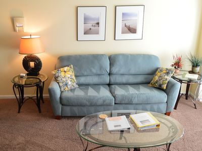 Brand new couch and love seat in 2015. Always exceptionally clean throughout!