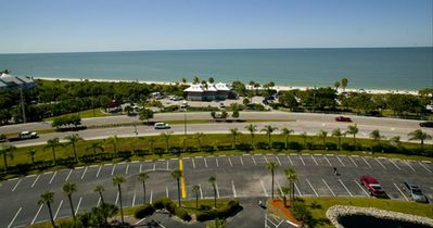 View of Bonita Beach State Park from the penthouse level.