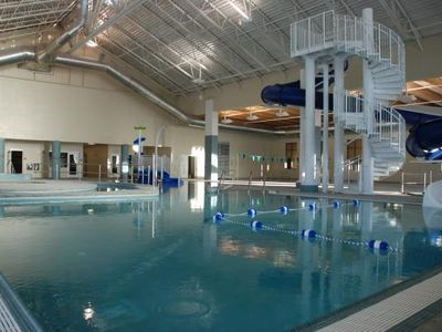 Walk to the nearby Recreation Center with Indoor Pool