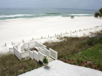 Your private walkover to the white sands of the Gulf