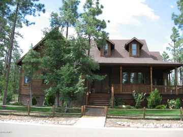 Pinetop cabin rental - Front of Main House