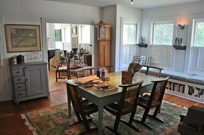 Nantucket Town house rental - Dining Room