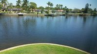2 bedroom condo, private end unit with beautiful intersecting canal views.