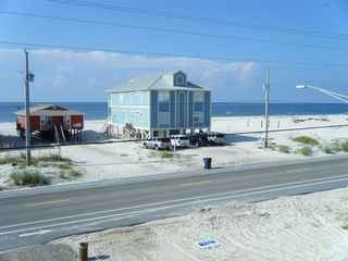 Gulf Shores house photo - Beach Shot from Upstairs Balcony