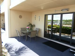 Indian Rocks Beach condo photo - PRIVATE PATIO