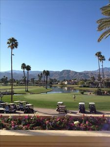 Rancho Mirage house rental - View from the Mission Hills Country Club House