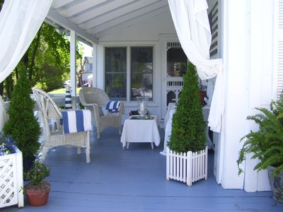 Shelter Island house rental - Verandah