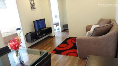 2BR condo near BTS and airport link