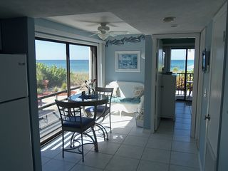 Manasota Key condo photo - Condo # 121 - Sitting Area or Extra Dining Area with View
