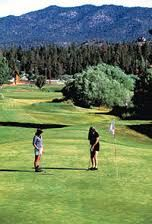 Golf at Big Bear Mountain