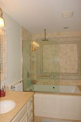 Surfside Nantucket house photo - Master Bathroom with Shower & Jacuzzi