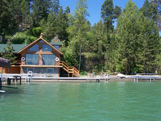 Somers house boat photo - Boathouse w/ outdoor area to the north